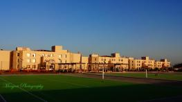 The sprawling new campus of Central University of Rajasthan. Credit: Manjeet Singh via CURAJ's facebook page