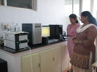 Scenes from Asha's lab
